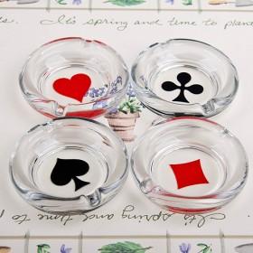 Poker Mini Ashtray(포커 미니 재털이) 4P